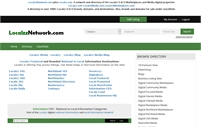 LocalzzNetwork.com (also Localzz.us) - A network and directory of the Localzz O & O Marketplaces and